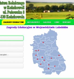 Zagrody edukacyjne - baza woj. lubelskiego