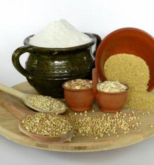Mąki, kasze,  makarony, płatki