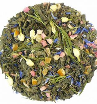 "Herbata Lubelska ""Śpiew Skowronka"" zielona owocowa 50 g"