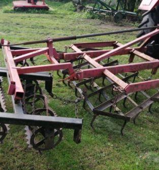 agregat uprawowy - brona ciężka z wałkami