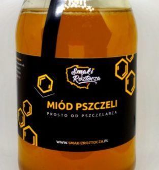 Miód lipowy 1000 g prosto od pszczelarza