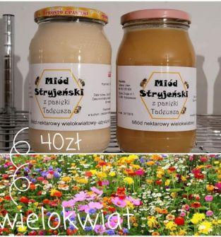 Miód nektarowy WIELOKWIATOWY