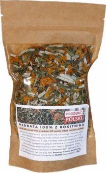 Herbatka z liści rokitnika