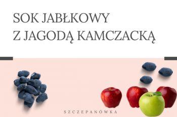 Sok jabłkowy z jagodą kamczacką 3 L