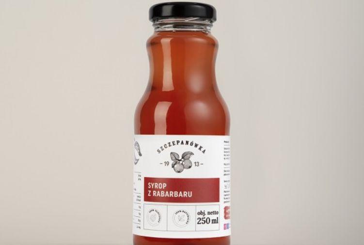 Syrop z rabarbaru 250 ml