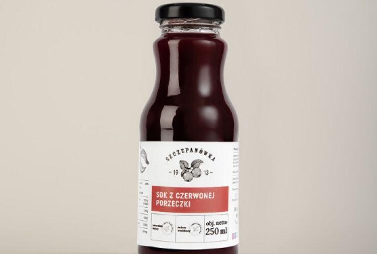 Sok z czerwonej porzeczki 250 ml